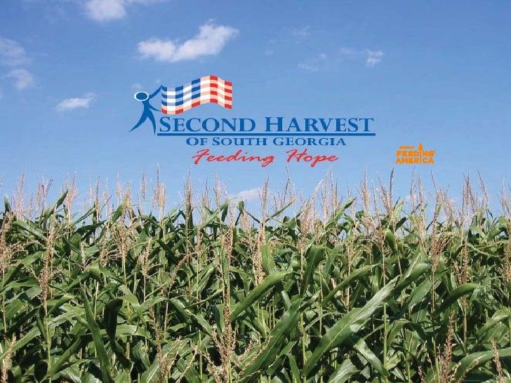 Second Harvest Presentation