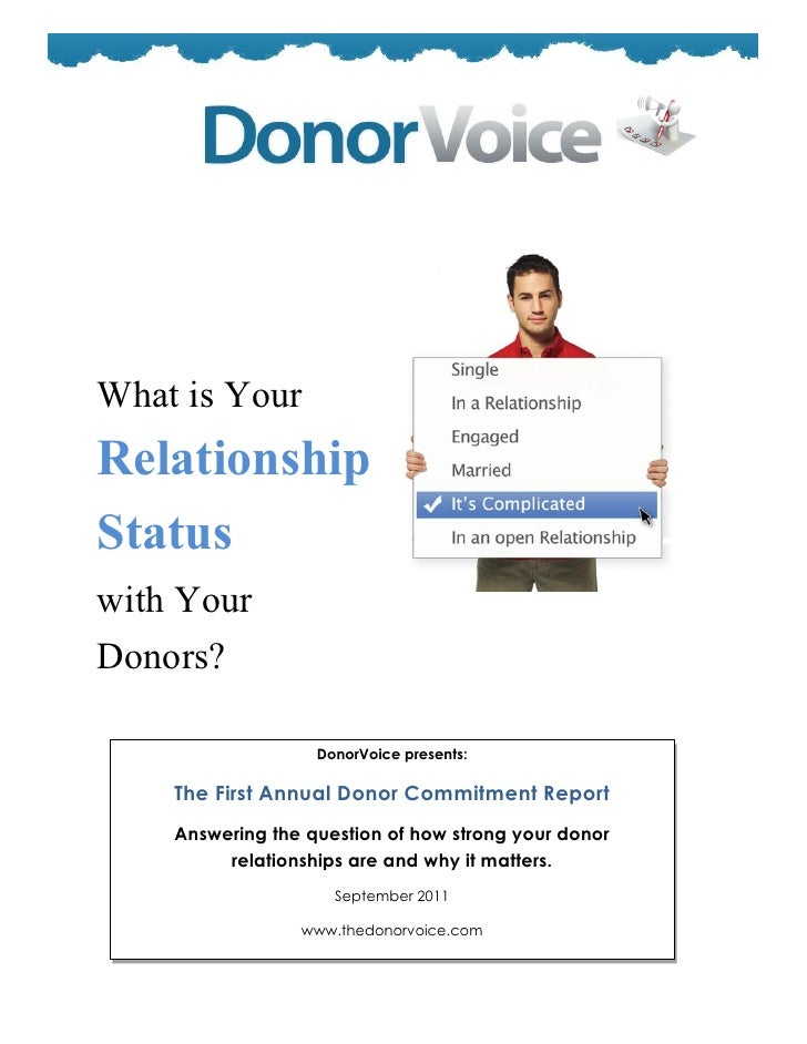 Donor voice donor commitment study_2011 executive summary_final2
