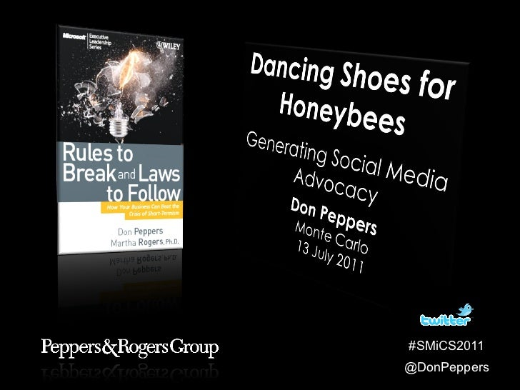 Don Peppers Dancing Shoes for Honeybees