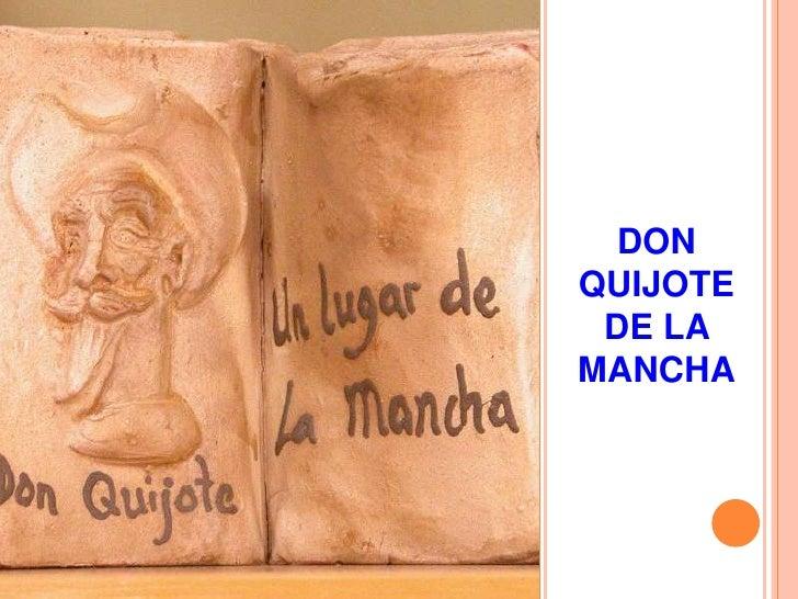 DONQUIJOTE DE LAMANCHA