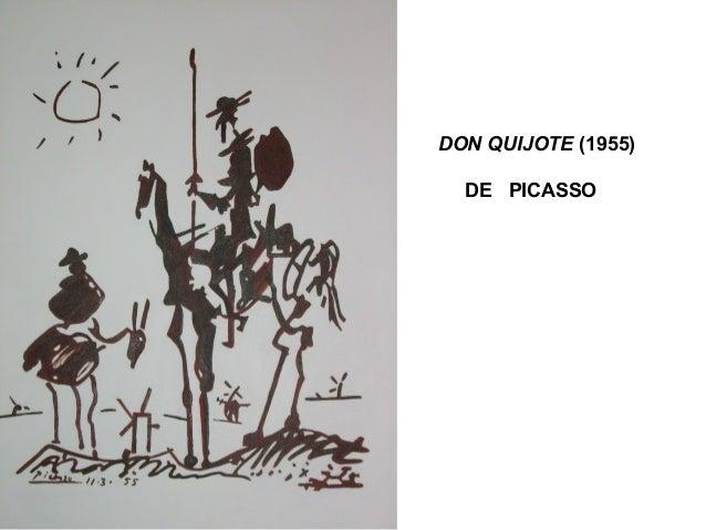 DON QUIJOTE (1955) DE PICASSO