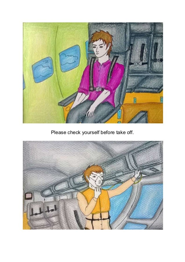 Please check yourself before take off.
