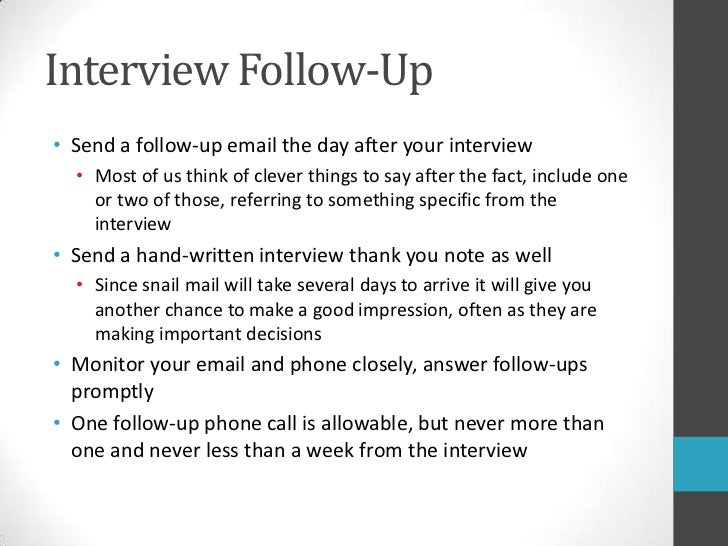 don  t blow your interview  18 interview followupltbr