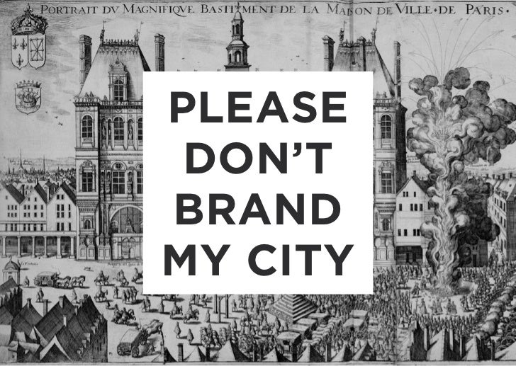 Dont brand my city