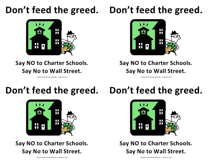 Don't feed the greed! 4up