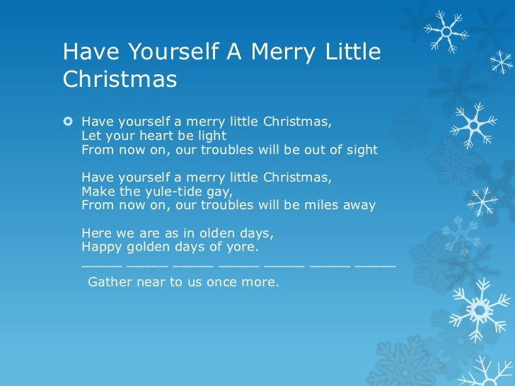 the lyrics of christmas in our heart