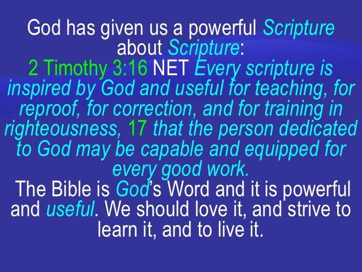God Power Verses God Has Given us a Powerful