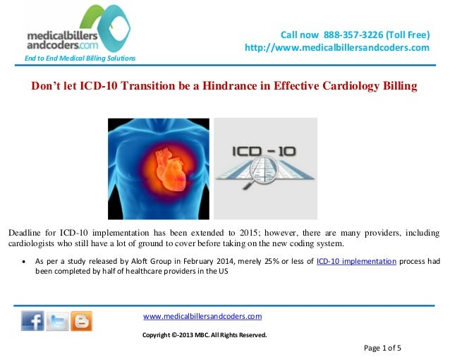 Don't let icd 10 transition be a hindrance in effective cardiology billing