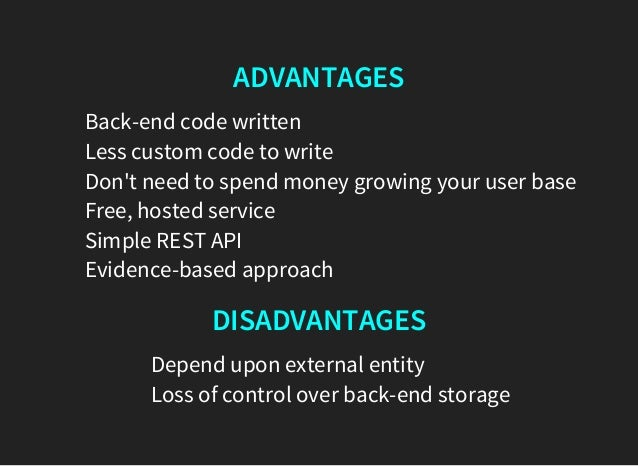Custom written advantages