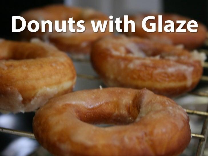 Donuts with Glaze