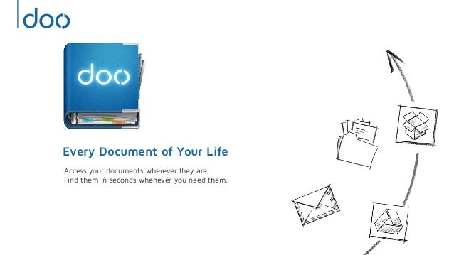 Every Document of Your LifeAccess your documents wherever they are.Find them in seconds whenever you need them.