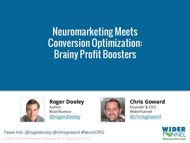 Neuromarketing Meets Conversion Optimization. Brainy Profit Boosters