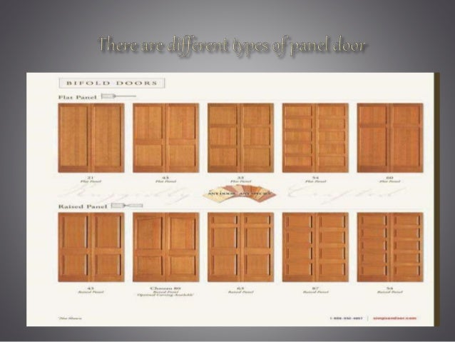 Types of doors for Types of doors