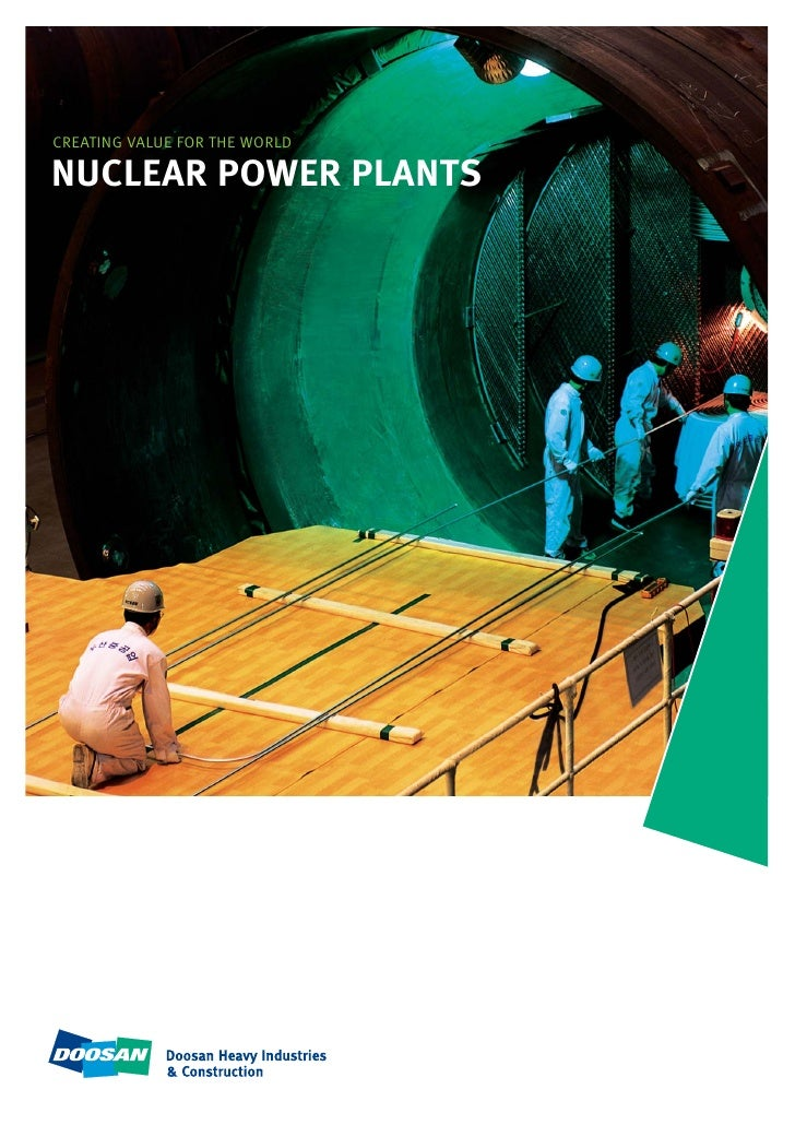 CREATING VALUE FOR THE WORLD  NUCLEAR POWER PLANTS