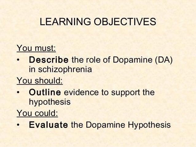 The Dopamine Hypothesis of Schizophrenia – Version III