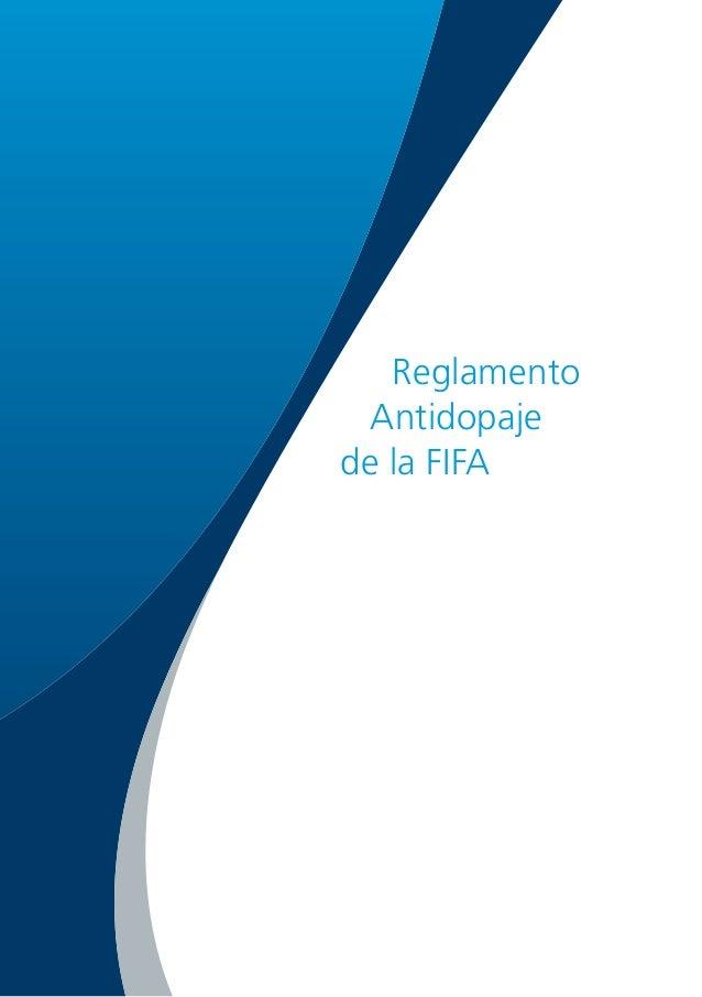 Reglamento Antidopaje de la FIFA