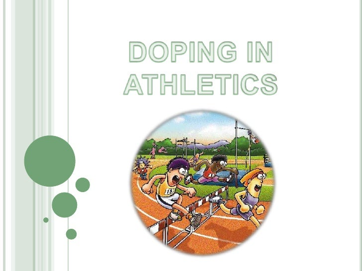 Doping in athletis (1)