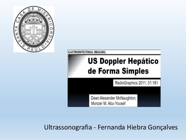 Ultrassonografia - Fernanda Hiebra Gonçalves