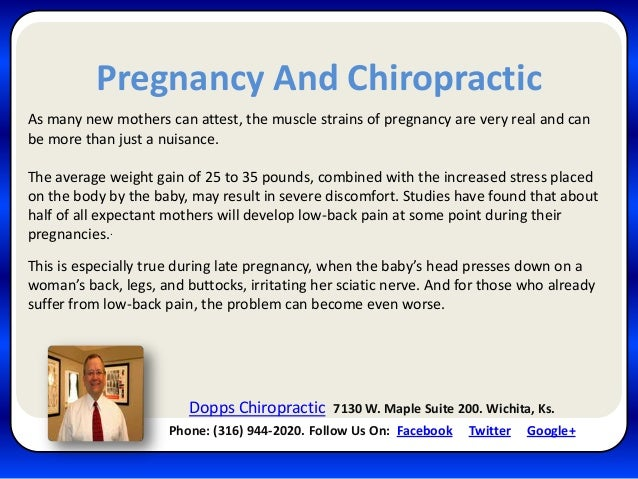 Pregnancy And ChiropracticAs many new mothers can attest, the muscle strains of pregnancy are very real and canbe more tha...