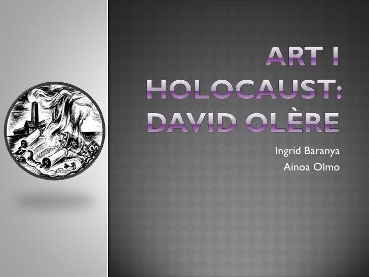 Art i Holocaust- David Olère