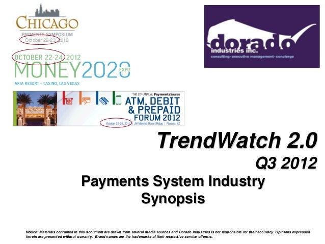 Dorado Trend Watch Q3 2012