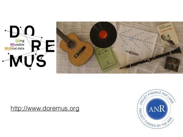 http://www.doremus.org