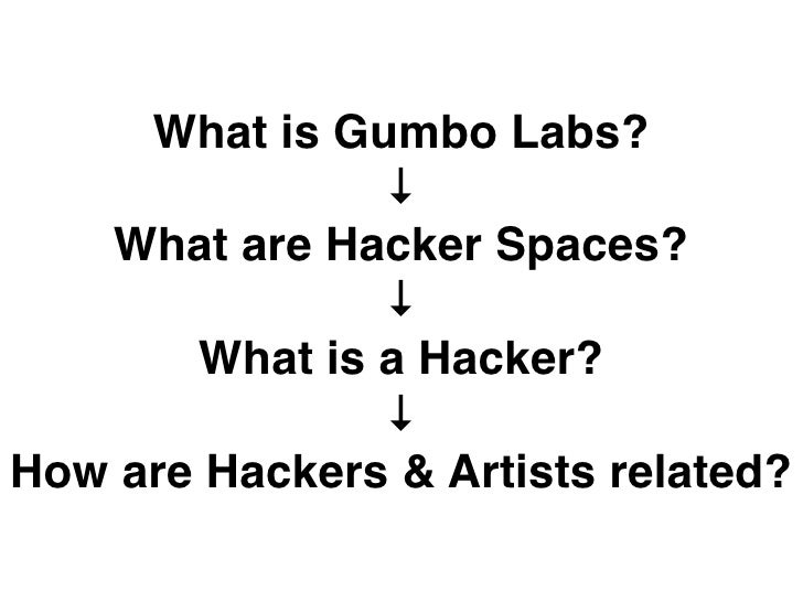 What is Gumbo Labs?                ↓    What are Hacker Spaces?                ↓        What is a Hacker?                ↓...
