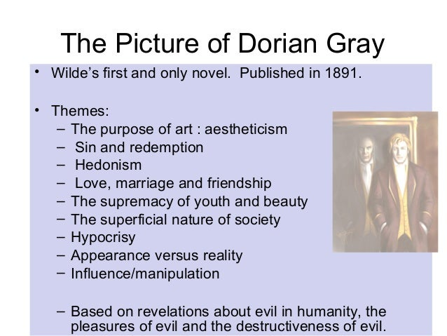 portrait of dorian gray essays The picture of dorian gray essays are academic essays for citation these papers were written primarily by students and provide critical analysis of the picture of.