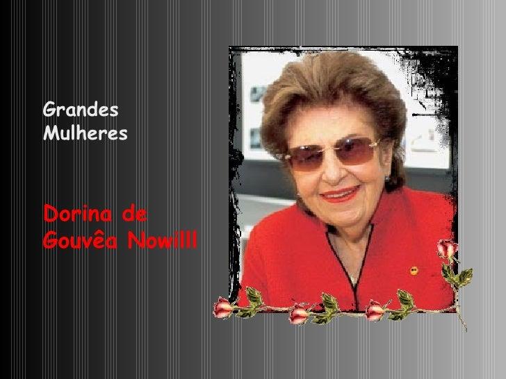 Dorina de Gouvêa Nowill