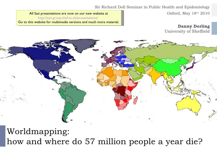 Worldmapping: how and where do 57 million people a year die?