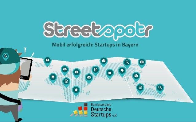 Mobil erfolgreich: Startups in Bayern