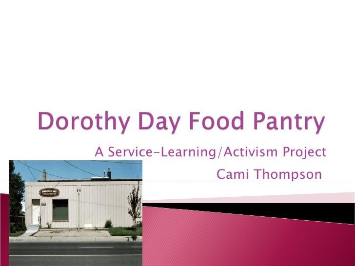 Dorothy Day Food Pantry
