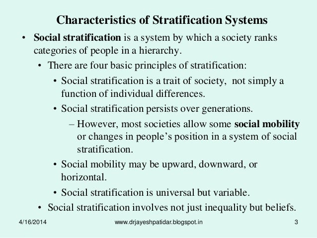 consequences of social stratification essay Home — all essay examples — sociology — sociology: poverty and stratification social stratification stratification has beneficial consequences.