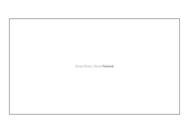 Álvaro Olmo | Dosier Personal