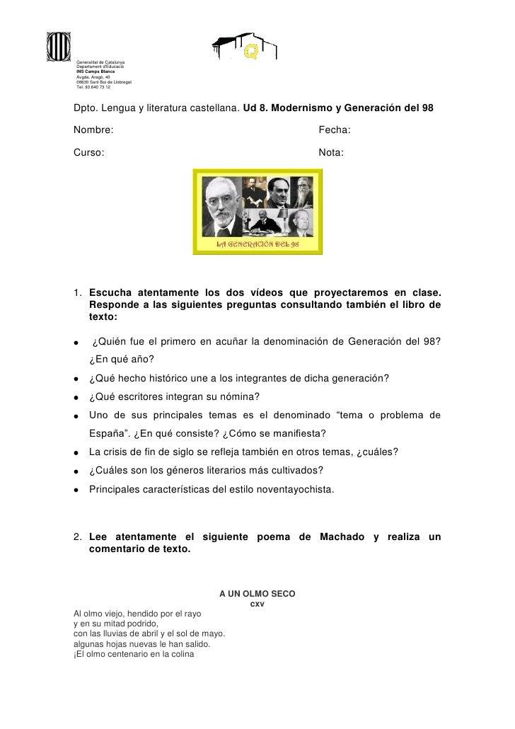 Generalitat de CatalunyaDepartament dEducacióINS Camps BlancsAvgda. Aragó, 4008830 Sant Boi de LlobregatTel. 93 640 73 12D...