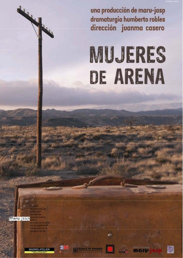 """Dossier """"Mujeres de arena"""""""