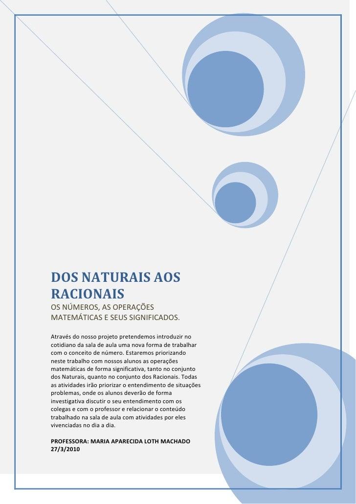 Dos naturais aos racionais. texto