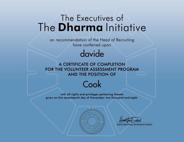 Dossier Dharma Initiative
