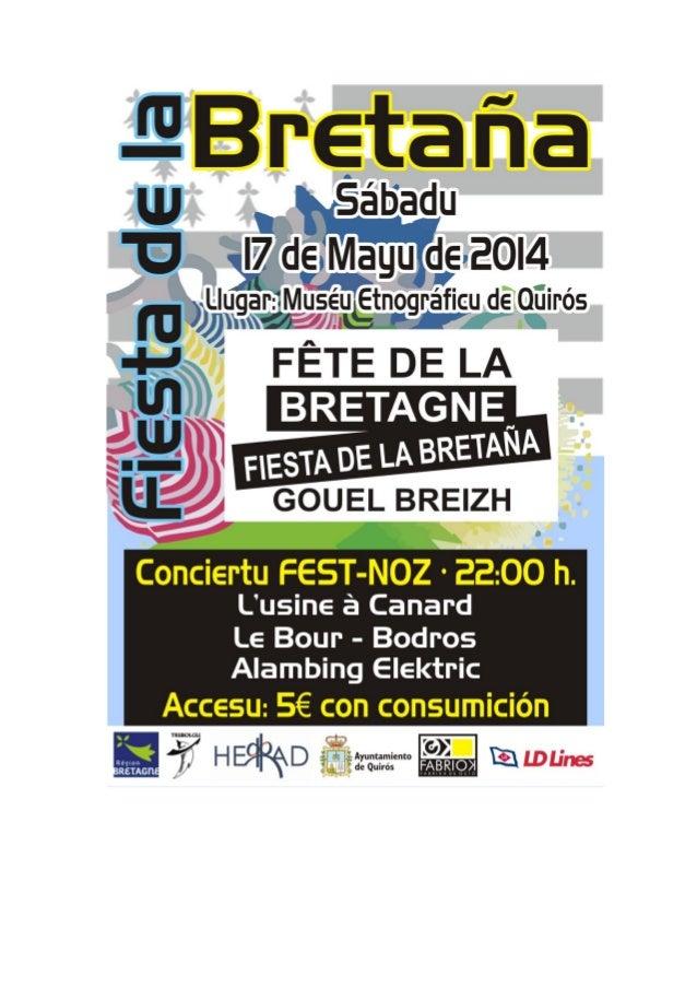 Festival Bretón en el Museo Etnográfico de Quirós