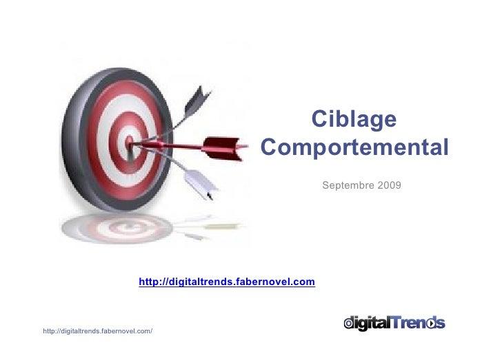 Dossier Ciblage Comportemental digitalTrends