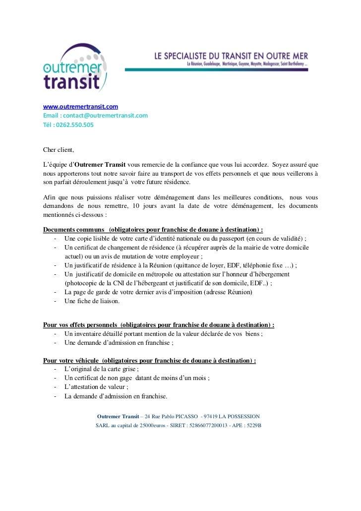 Dossier De Preparation Au Demenagement