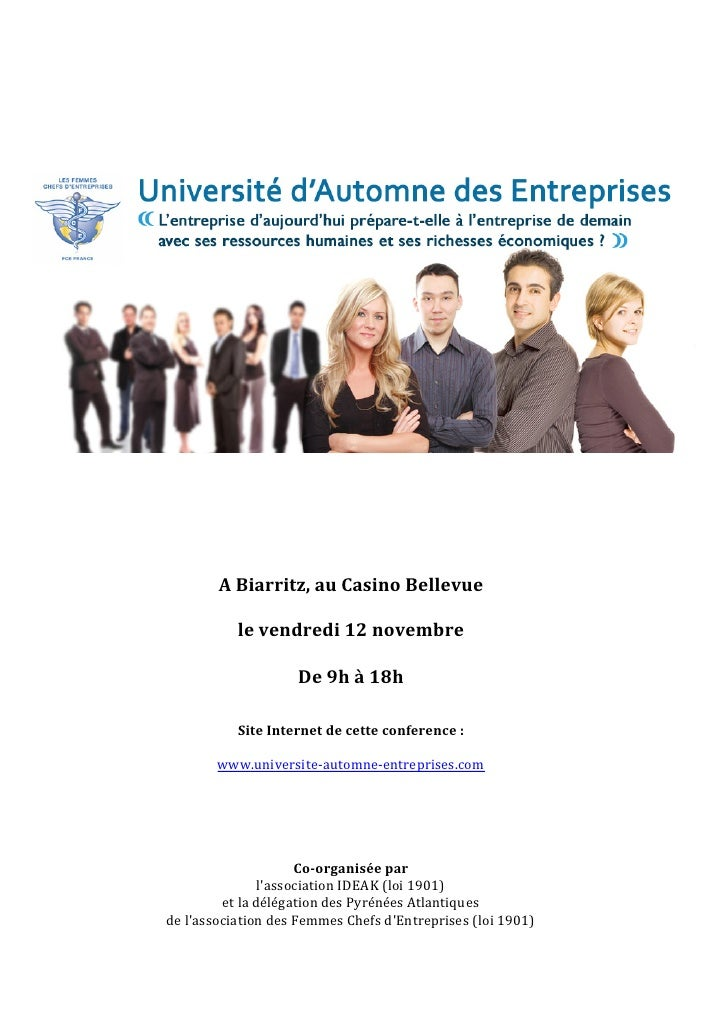 Universite Automne Entreprises