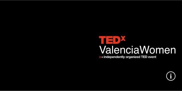 Dossier TEDxValenciaWomen 2012