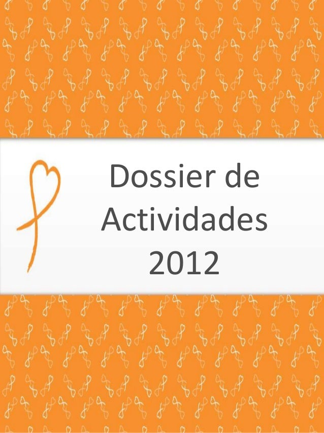 Dossier de Actividades 2012
