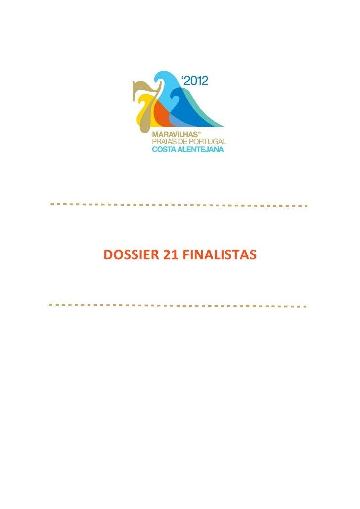 DOSSIER 21 FINALISTAS