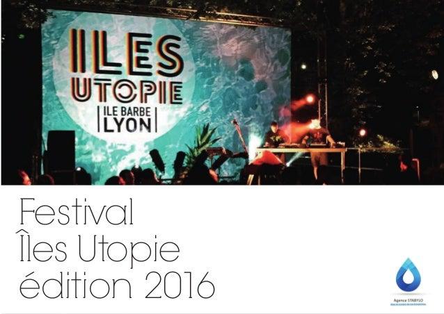 Festival Îles Utopie édition 2016