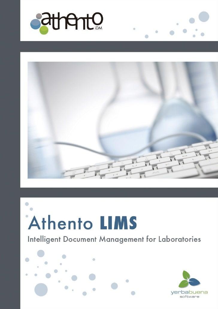 Athento LIMS (english)