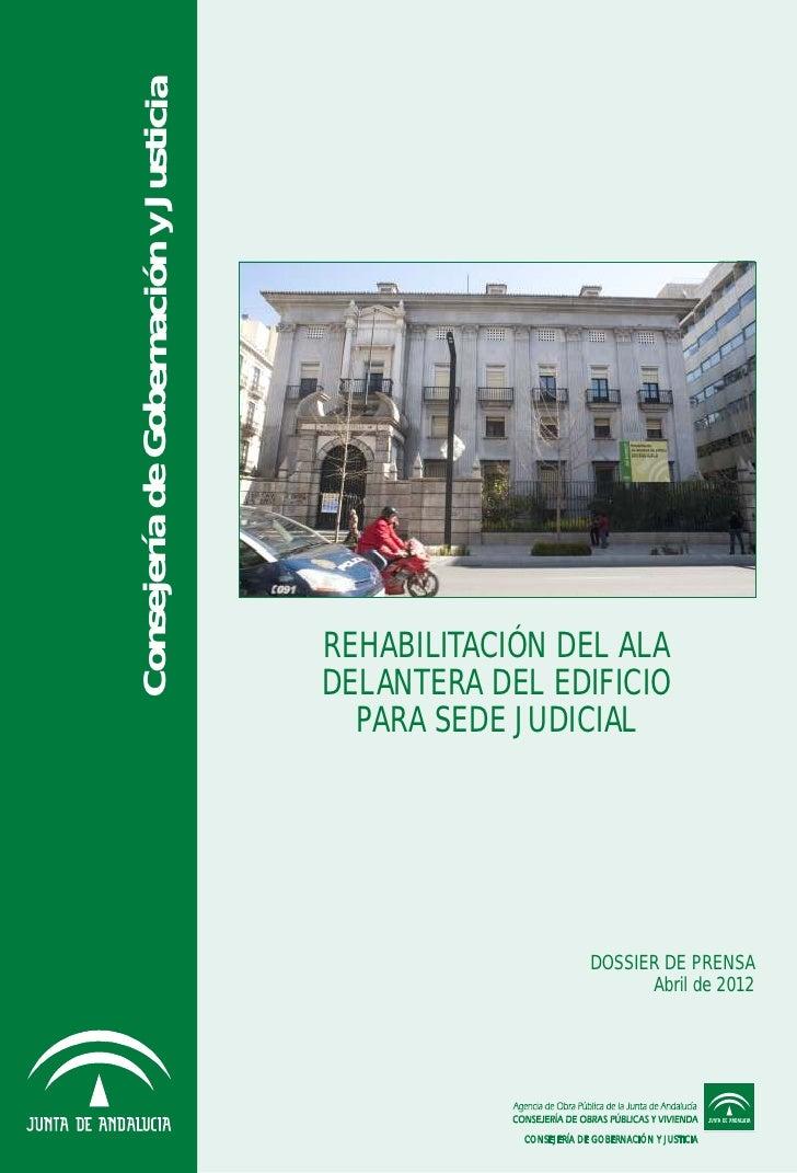 Dossier Rehabilitación Banco de España