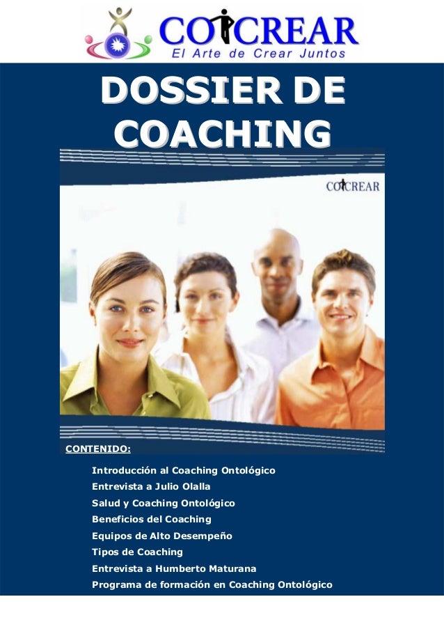 Dossier coaching