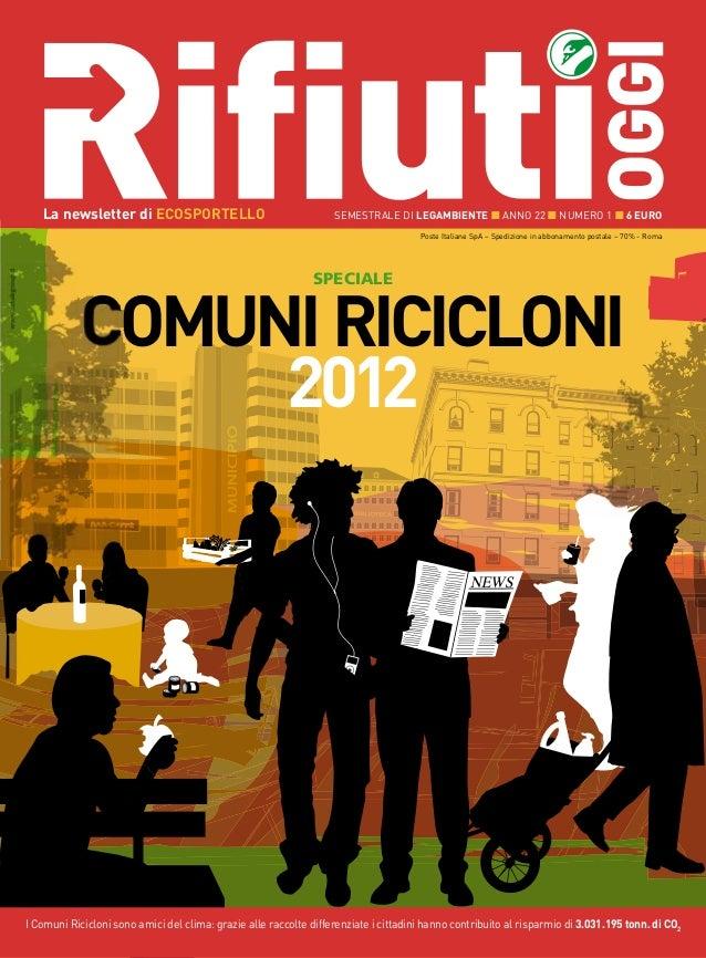 Dossier Comuni Ricicloni 2012